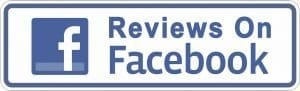 Facebook icon for reviews